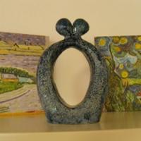 Kunstwerk van keramiek, speciaal gemaakt voor de Bres.